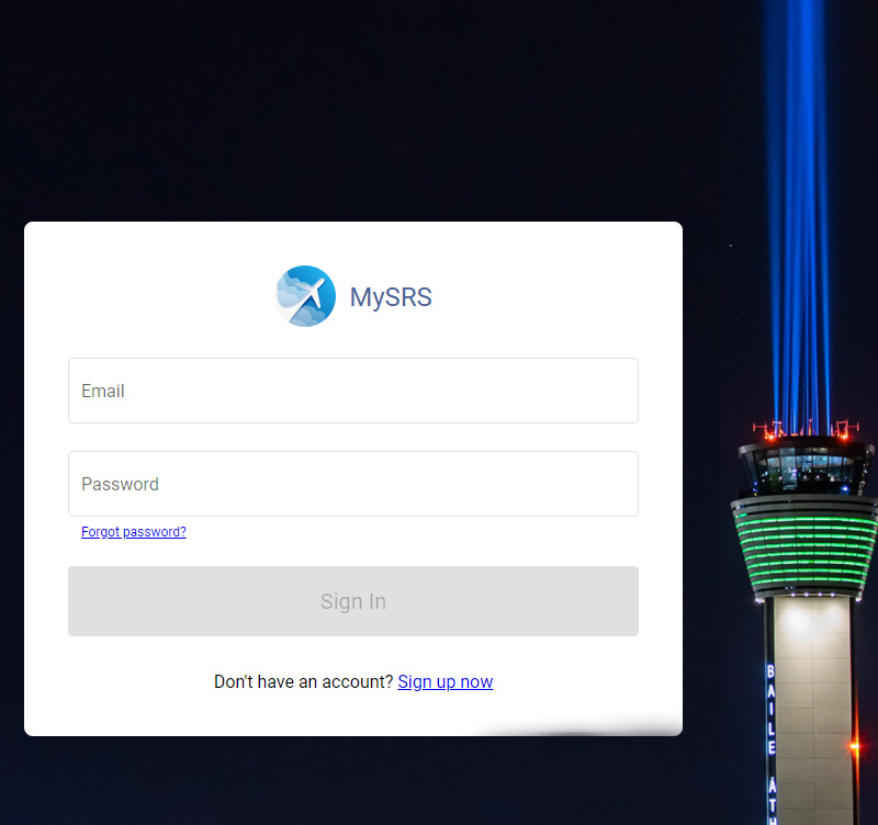 Image for Creating a MySRS Account